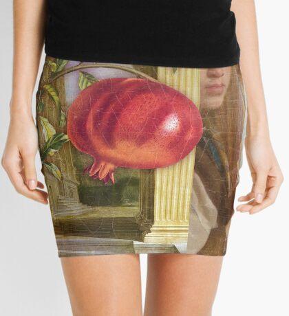The Pomegranate Eater Mini Skirt