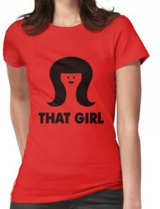 THAT GIRL Womens Fitted T-Shirt