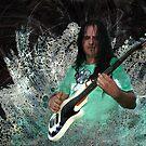 Bulgarian bass guitarist by Valentina Walker