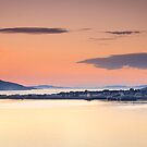Ullapool at Dusk from Corry Point by Christopher Thomson