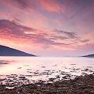 Loch Broom Dusk by Christopher Thomson