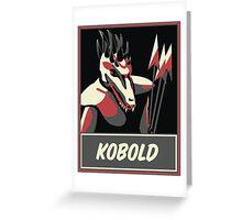 KOBOLD Greeting Card