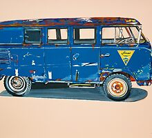 VW Bus by itchingink