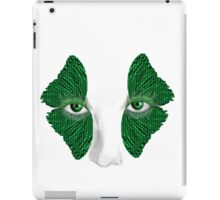Butterfly lashes iPad Case/Skin
