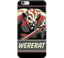 WERERAT iPhone Case/Skin