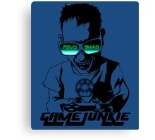 Video Game Junkie Canvas Print