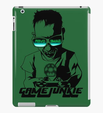 Video Game Junkie iPad Case/Skin