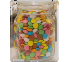 sweet candy in the jar iPad Case/Skin