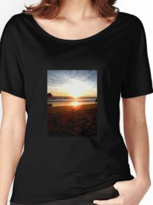 Stroll On The Shore Women's Relaxed Fit T-Shirt