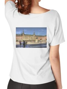 The place to be in Madrid Women's Relaxed Fit T-Shirt