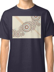 Colorful Graphic Rings Classic T-Shirt