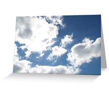 Florida's Winter Clouds Greeting Card