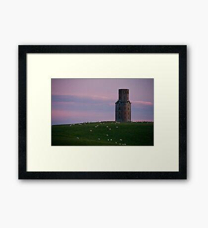 Kahren's tower. Framed Print
