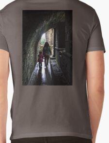 Walk to the Light Mens V-Neck T-Shirt