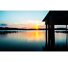 Calm Sunset Photographic Print
