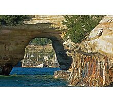 More  pictured rocks Photographic Print