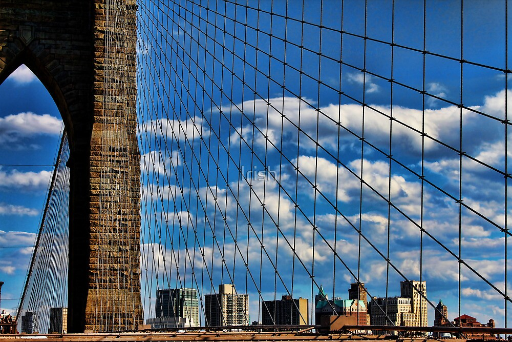 Brooklyn Bridge  by Irish