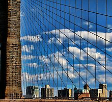 Brooklyn Bridge  by Irish