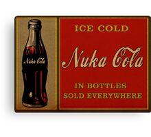 Nuka Cola Vintage Canvas Print