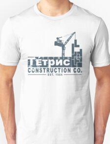 Tetris Construction Co. Unisex T-Shirt