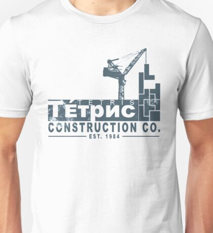 Tetris Construction Co. Unisex T-Shirt