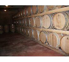 Wine Cellar Photographic Print
