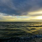 Cloudy Sunset at Treasure Island by Caren