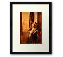 loveno Framed Print