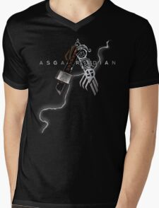 Asgardian Pride (Lightning Bolt) Mens V-Neck T-Shirt