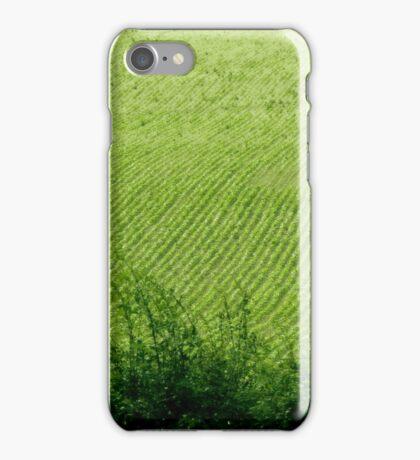 Green field in spring iPhone Case/Skin
