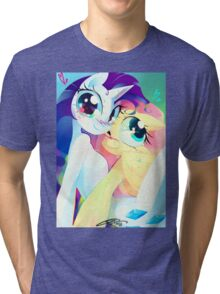 Flutterity by Io Zárate  Tri-blend T-Shirt