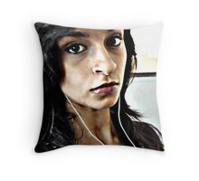 (8) Look me in the eye ...  Throw Pillow