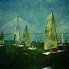 Sailing Regatta in Charleston SC by Susanne Van Hulst