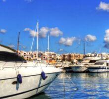 Santa Eulalia Marina Sticker
