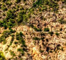 Cala Llonga Cliffs Sticker