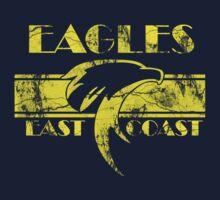 Retro Eagles Yellow by Eastcoasteagles