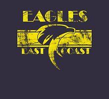 Retro Eagles Yellow Mens V-Neck T-Shirt