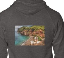 Private Beach Zipped Hoodie