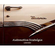 Automotive Nostalgia Calendar Cover Photographic Print