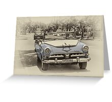 Varadero Dodge  Greeting Card