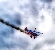 Wing Walker at Tulsa Air Show by fixer11