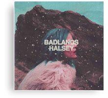 Badlands (Halsey Album) Canvas Print
