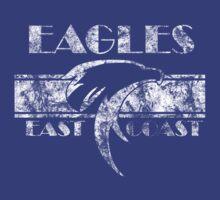 Retro Eagles White by Eastcoasteagles