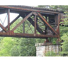Railroad Trestle Photographic Print
