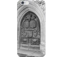 Bath England Abbey Door 2010 - Uncaptioned iPhone Case/Skin