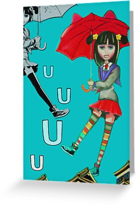 U is for Up by Cate Townsend