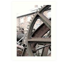 Wheel yard Art Print