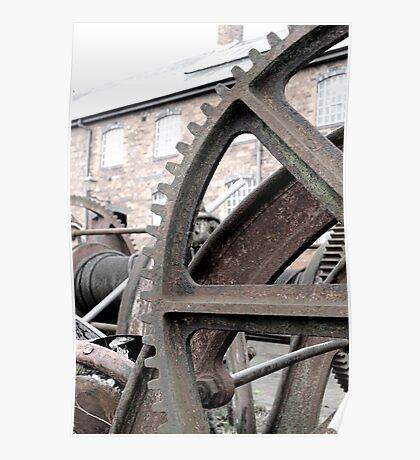 Wheel yard Poster