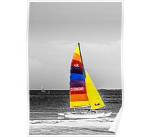 Colored Sails Poster