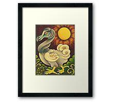The Strutting DoDo Bird Framed Print